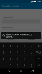 HTC One M8 - E-mail - Configuration manuelle - Étape 12