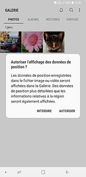 Samsung Galaxy A7 2018 - Photos, vidéos, musique - Envoyer une photo via Bluetooth - Étape 4