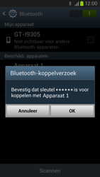 Samsung I9305 Galaxy S III LTE - Bluetooth - Headset, carkit verbinding - Stap 7