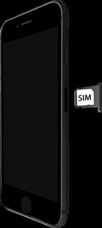 Apple iPhone 7 - iOS 13 - Appareil - comment insérer une carte SIM - Étape 4