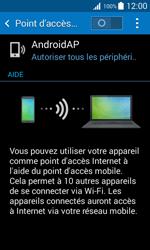 Samsung Galaxy Trend 2 Lite - Internet et connexion - Partager votre connexion en Wi-Fi - Étape 10