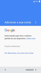 Sony Xperia XZ - Android Nougat - Primeiros passos - Como ligar o telemóvel pela primeira vez -  9