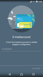 Sony Xperia XA - E-mail - Account instellen (POP3 zonder SMTP-verificatie) - Stap 6
