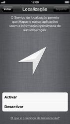 Apple iPhone iOS 6 - Primeiros passos - Como ativar seu aparelho - Etapa 9
