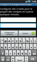 Samsung I5800 Galaxy Apollo - E-mail - Configuration manuelle - Étape 5