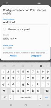 Samsung Galaxy S10 Plus - Internet - comment configurer un point d'accès mobile - Étape 11