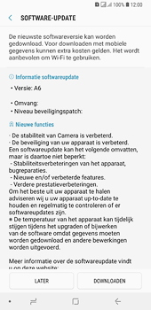 Samsung Galaxy A6 Plus - Software update - update installeren zonder PC - Stap 7
