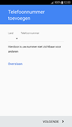 Samsung Galaxy J3 (2017) (SM-J330F) - Applicaties - Account aanmaken - Stap 15