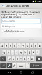 Sony Xpéria Z1 - E-mails - Ajouter ou modifier un compte e-mail - Étape 5