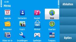 Nokia N97 - Internet - Internetten - Stap 2