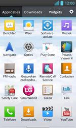 LG E460 Optimus L5 II - Voicemail - handmatig instellen - Stap 4