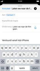 Apple iPhone SE - iOS 13 - E-mail - Bericht met attachment versturen - Stap 7