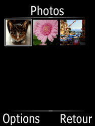 Doro Phone Easy 631 - Photos, vidéos, musique - Envoyer une photo via Bluetooth - Étape 5