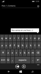 Microsoft Lumia 640 - Mensajería - Escribir y enviar un mensaje multimedia - Paso 8
