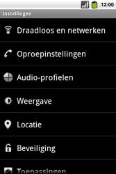 Alcatel OT-991 Smart - Voicemail - Handmatig instellen - Stap 4