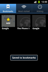 Samsung S5830i Galaxy Ace i - Internet - Internet browsing - Step 9