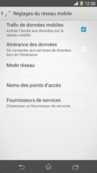 Sony Xpéria Z1 - Internet et connexion - Activer la 4G - Étape 6