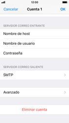 Apple iPhone 5s - iOS 11 - E-mail - Configurar correo electrónico - Paso 24