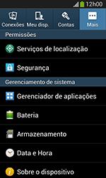 Samsung Galaxy Grand Neo - Primeiros passos - Como encontrar o número de IMEI do seu aparelho - Etapa 5
