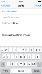 Apple iPhone 5 iOS 8 - E-mail - E-mail versturen - Stap 7