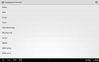 Samsung P5100 Galaxy Tab 2 10-1 - MMS - handmatig instellen - Stap 8