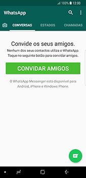 Samsung Galaxy S9 - Aplicações - Como configurar o WhatsApp -  14