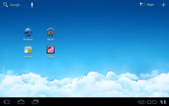 Huawei Mediapad S7-301u - Internet - Popular sites - Step 1