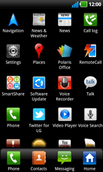 LG P970 Optimus Black - Internet - Manual configuration - Step 3