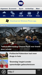 HTC Windows Phone 8X - Internet - Internet gebruiken - Stap 12