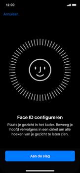 Apple iphone-x-met-ios-11-model-a1901 - Face ID en Animoji - Face ID inschakelen - Stap 5