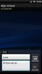 Sony Ericsson Xperia Arc - MMS - afbeeldingen verzenden - Stap 9