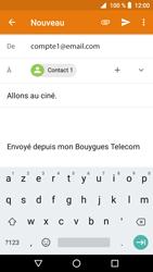 Crosscall Core X3 - E-mails - Envoyer un e-mail - Étape 9