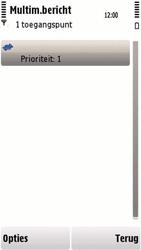Nokia 5230 - MMS - handmatig instellen - Stap 11