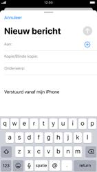 Apple iphone-7-met-ios-13-model-a1778 - E-mail - Hoe te versturen - Stap 4