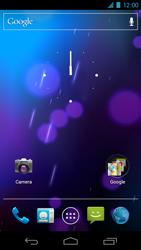 Samsung I9250 Galaxy Nexus - Bluetooth - Koppelen met ander apparaat - Stap 2