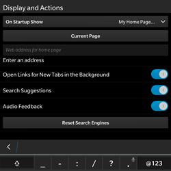 BlackBerry Passport - Internet - Manual configuration - Step 18