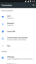Nokia 3 - Wifi - configuration manuelle - Étape 3