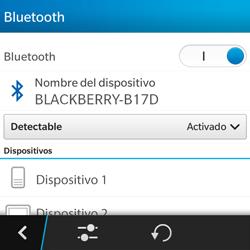 BlackBerry Q5 - Bluetooth - Conectar dispositivos a través de Bluetooth - Paso 7