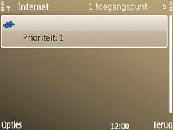 Nokia E72 - Internet - handmatig instellen - Stap 14