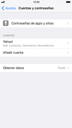 Apple iPhone 8 - E-mail - Configurar Yahoo! - Paso 9