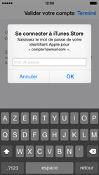 Apple iPhone 5s - iOS 8 - Applications - Créer un compte - Étape 26