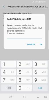 Samsung Galaxy S9 - Sécuriser votre mobile - Personnaliser le code PIN de votre carte SIM - Étape 10