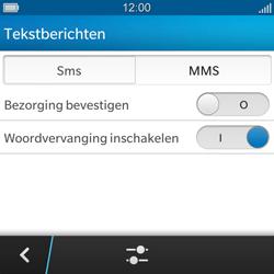 BlackBerry Q5 - MMS - handmatig instellen - Stap 6