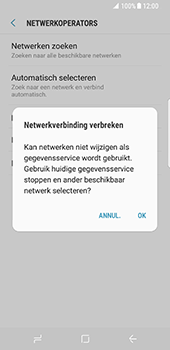 Samsung Galaxy S8 (G950) - Buitenland - Bellen, sms en internet - Stap 11