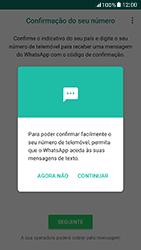 Samsung Galaxy A5 (2017) - Aplicações - Como configurar o WhatsApp -  11