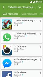 """Alcatel Pixi 4 (5"""") - Aplicações - Como pesquisar e instalar aplicações -  7"""