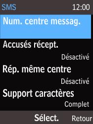 Nokia 220 - SMS - Configuration manuelle - Étape 7