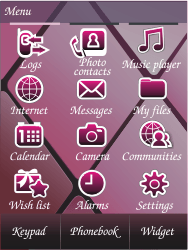 Samsung S7070 Diva - E-mail - Sending emails - Step 3