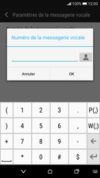 HTC Desire 626 - Messagerie vocale - Configuration manuelle - Étape 7