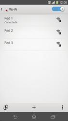Sony Xperia Z1 - WiFi - Conectarse a una red WiFi - Paso 8